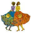 Sunflower Girls Giclee Artist Proof