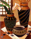 Still Life With African Bowl Giclee