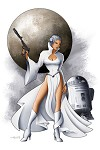 Leia From Lucas Films Star Wars