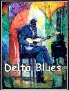 Delta Blues Artist Signed
