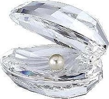 Swarovski Shell With Pearl