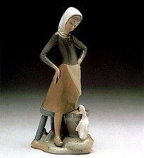 Girl With Milk Pail 1970-91