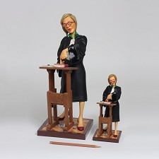 Lady Lawyer 1/2 scale