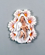 Madonna Of The Daisies - Plaque