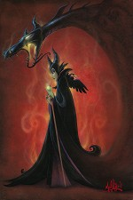 The Dragon Within From The Movie Sleeping Beauty