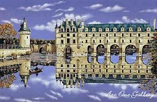 Chenonceaux on Koji Paper