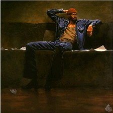 Marvin Gaye Giclee On Canvas