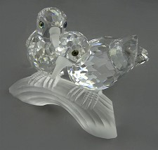Swarovski Turtle Doves 1989 Caring And Sharing