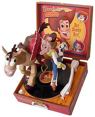 WDCC Disney Classics Toy Story 2 Jessie Bullseye And Plaque TS2SET