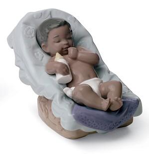 Nao Porcelain African American - DREAM LITTLE BOY