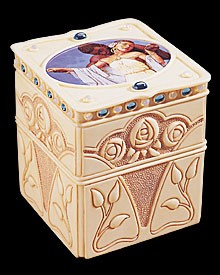 Ebony Visions Lovers Keepsake Box