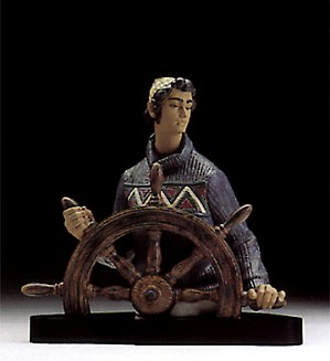 Lladro At The Helm Le3500 1994-98-3571M