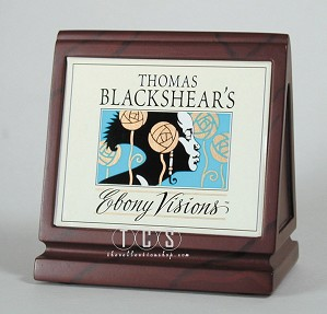 Ebony Visions - Dealer Plaque