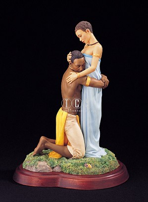 Ebony Visions - Cherished Hand Signed By Thomas Blackshear