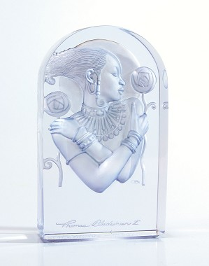 Ebony Visions - Visions Of Beauty - Frostwork 2004 Plaque