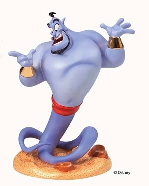 Lladro Aladdin Genie Magic At His Fingertips-4005050