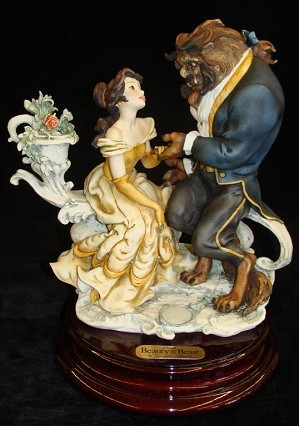 Giuseppe Armani Beauty And The Beast Disneyana Convention Hand Signed Artist Proof