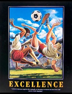 Ernie Barnes - Excellence-Unsigned