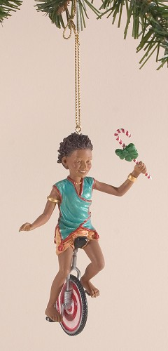 Ebony Visions - Pedalin Pete Ornament