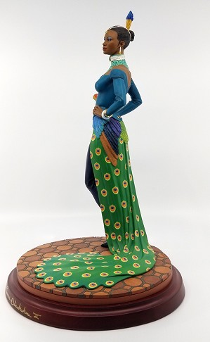 Ebony Visions Lady Peacock Gallery Proof