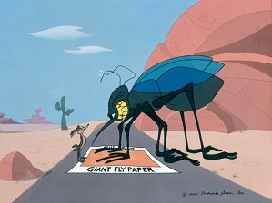 fine art Chuck Jones _ Waiter, Theres A Fly In My Soup Or sonic