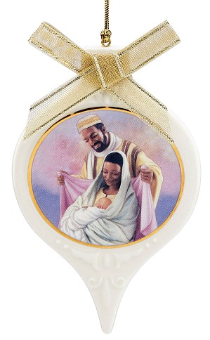 Ebony Visions - The Holy Family Ornament
