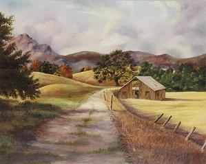 Gamboa - California Landscape I Giclee