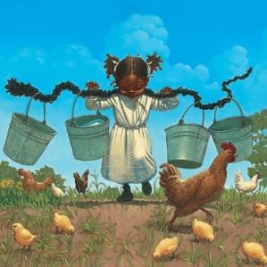Kadir Nelson - Buckets And Chickens
