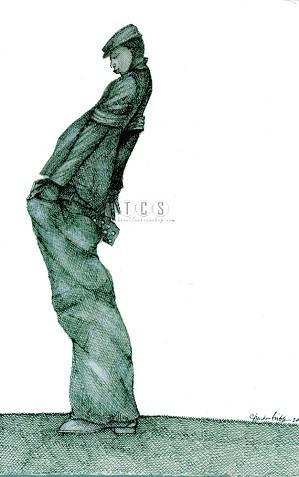 Charles Bibbs - Baggies Artist Proof Giclee Print