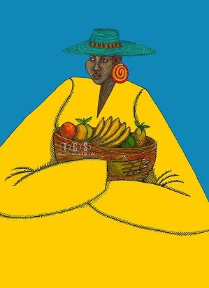 Charles Bibbs - Bajan Woman