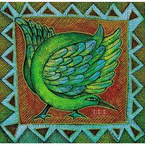 Charles Bibbs - Bird Motiff Giclee Hand Enhanced Edition