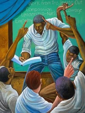 Ernie Barnes - Each One, Teach One