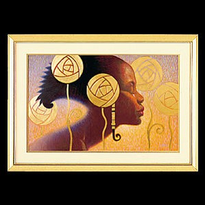 Ebony Visions - Ebony Visions Print Lithograph Unframed