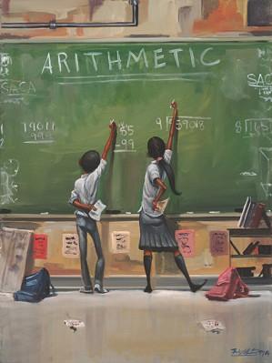 Frank Morrison - ARITHMETIC