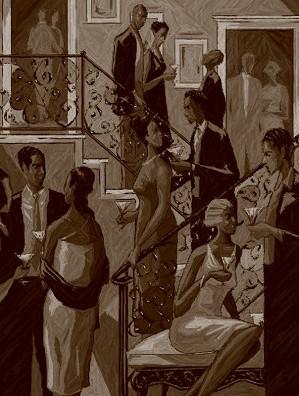 John Holyfield - SOCIALITES SEPIA EDITION