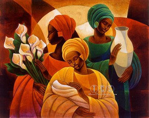 Keith Mallett - Caress Giclee