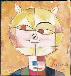 fine art Chuck Jones _ Portrait De Cochon