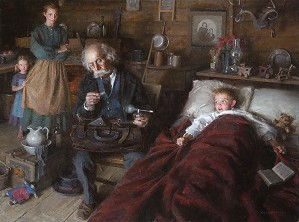 The Country Doctor by Morgan Westling Image is watermarked for copyright protection and is not present on the actual art work.