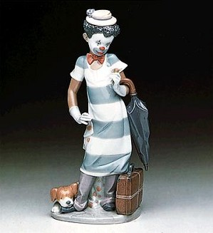 Lladro Black Legacy - On The Move