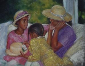 Brenda Joysmith - Glad Hats Giclee