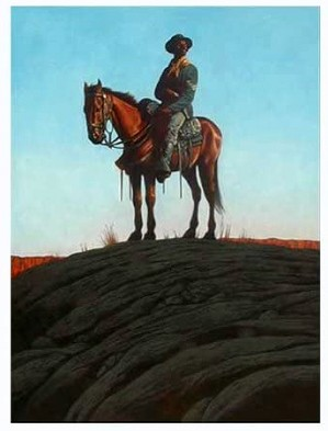 Kadir Nelson - Morning Patrol Printers Proof