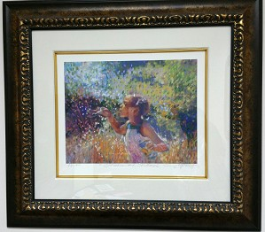 Brenda Joysmith - Wishes And Willows Giclee AP Framed