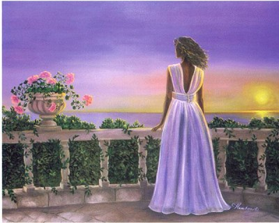 Sunset by Gamboa Image is watermarked for copyright protection and is not present on the actual art work.