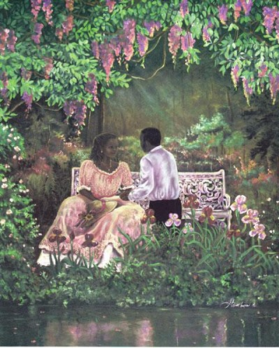 The Proposal by Gamboa Image is watermarked for copyright protection and is not present on the actual art work.