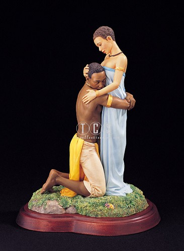 Cherished by Thomas Blackshear Image is watermarked for copyright protection and is not present on the actual art work.