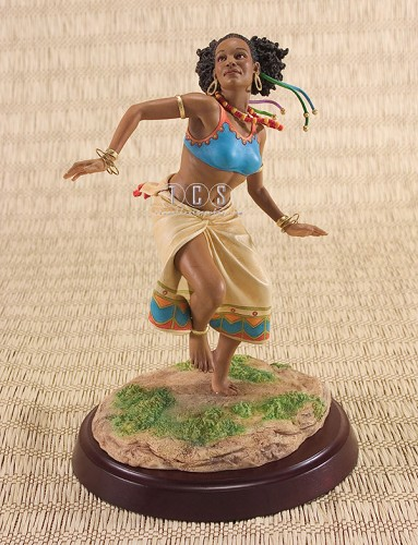 The Dancer by Ebony Visions Image is watermarked for copyright protection and is not present on the actual art work.
