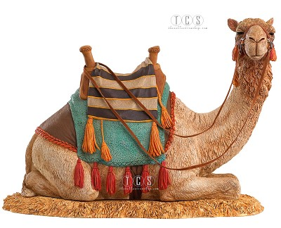 The Nativity Camel by Ebony Visions Image is watermarked for copyright protection and is not present on the actual art work.