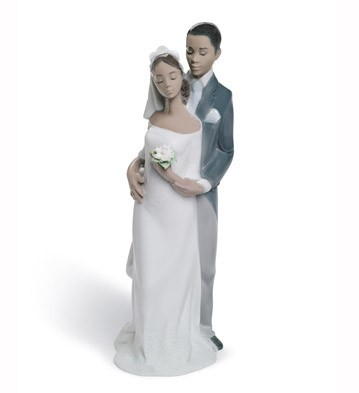 FOREVER YOURS by Lladro Black Legacy Image is watermarked for copyright protection and is not present on the actual art work.