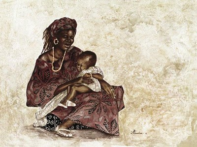 Lullaby by Gamboa Image is watermarked for copyright protection and is not present on the actual art work.