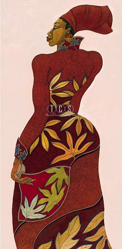 Autumn Limited Edition Giclee by Charles Bibbs Image is watermarked for copyright protection and is not present on the actual art work.